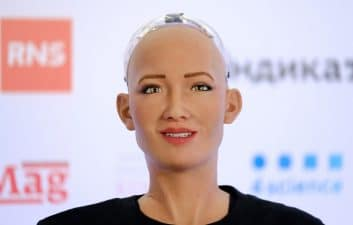 Sophia robot creators bet on growth amid pandemic