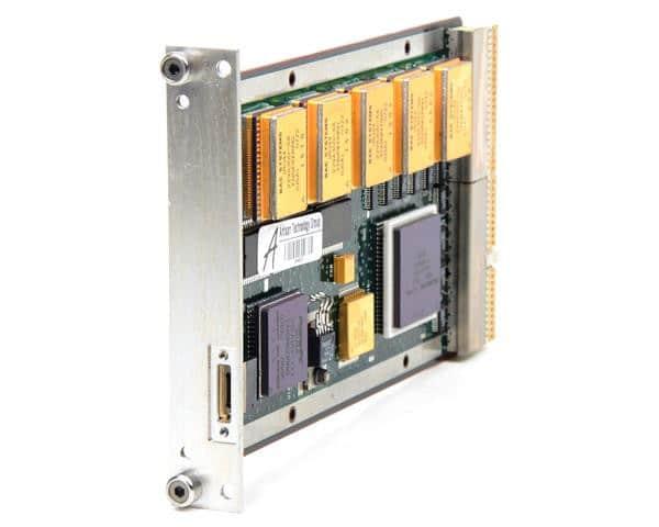 Imagen de la placa BAE 750, computadora que es el cerebro de la perseverancia