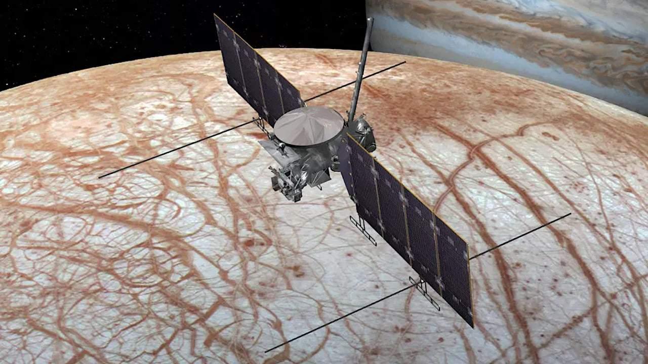 Missão da Nasa para explorar lua de Júpiter usará um foguete comercial