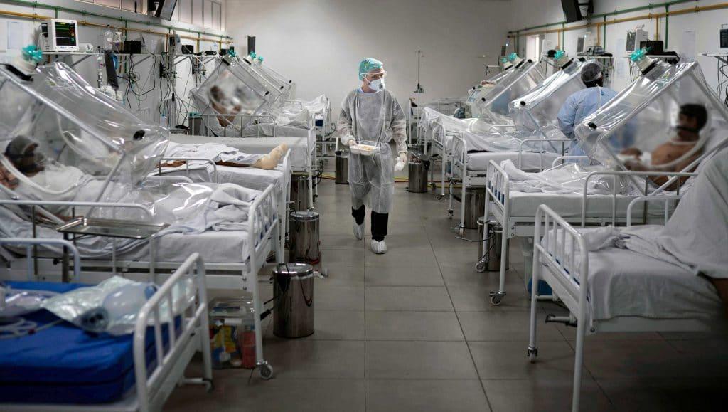 Hospitalizações por Covid-19