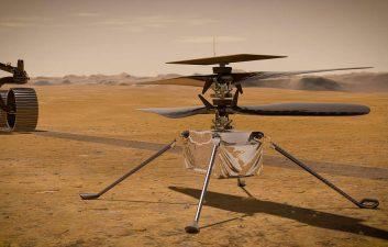Ingenuity: NASA drone sends first report after landing on Mars