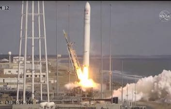 Northrop Grumman launches Cygnus cargo spacecraft en route to the Space Station