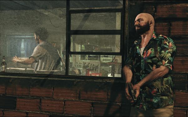 Imagem do personagem do game Max Payne 3 em cena do jogo