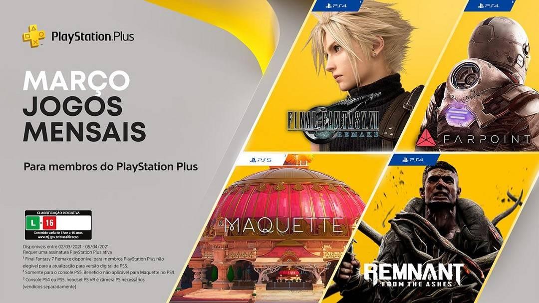 PlayStation Plus: Confira os títulos de março para membros- Olhar Digital