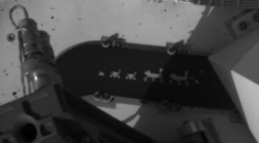 Retrato de família a bordo do Perseverance traz menção a missões passadas da Nasa. Rover foi responsável pelos primeiros sons gravados em Marte