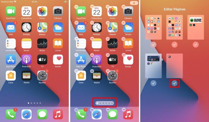 Eliminar telas de apps