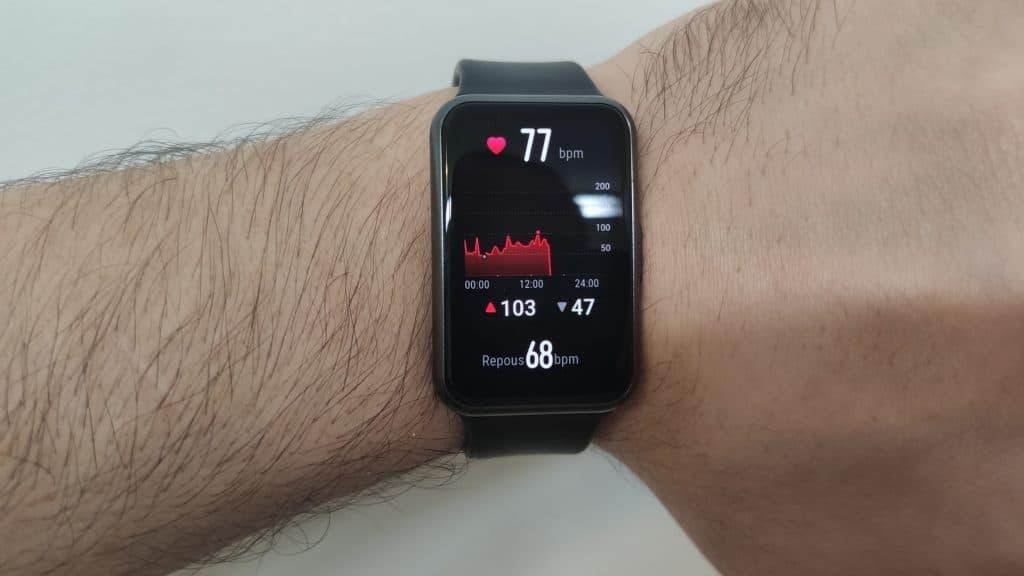 Huawei Watch Fit - Heartbeat