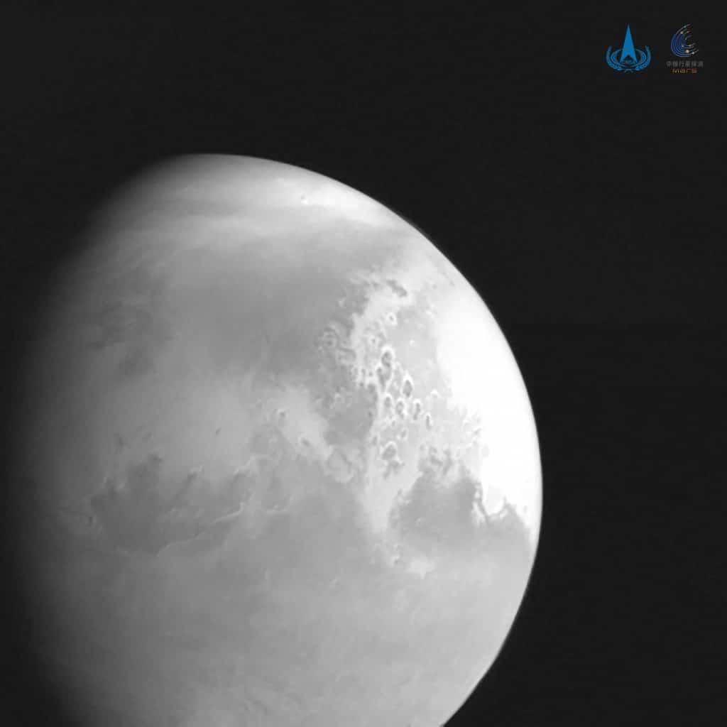 La misi贸n china Tianwen-1 ha llegado a Marte