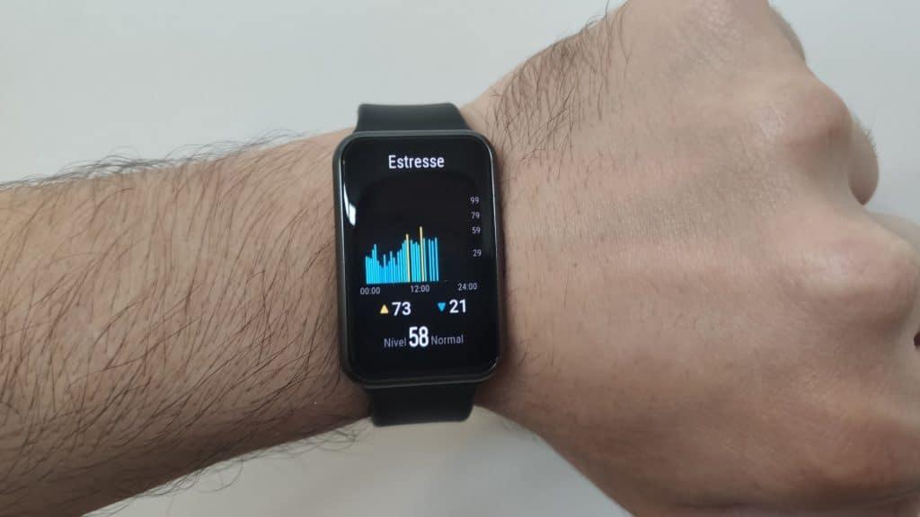 Huawei Watch Fit - Stress monitoring