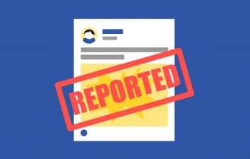 Consultar detalles sobre contenido prohibido en Facebook