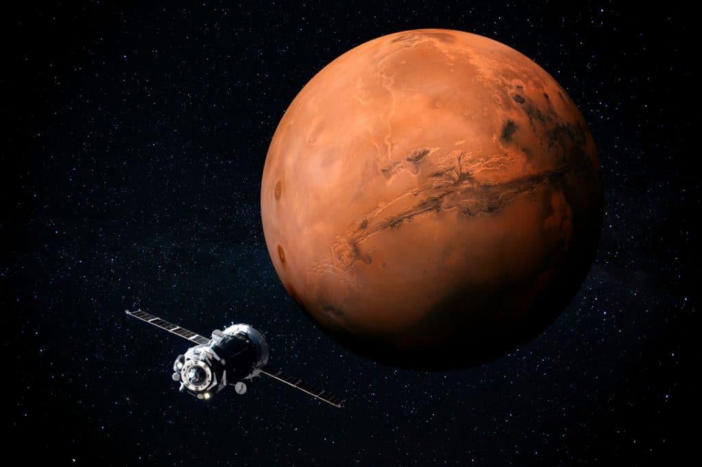 Sonda rumo a Marte