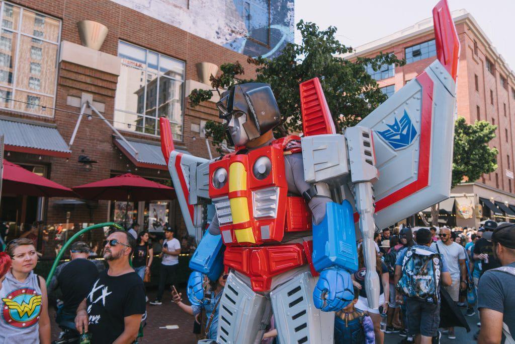 Comic-Con de 2019, em San Diego. Imagem: Steady Hand/Shutterstock